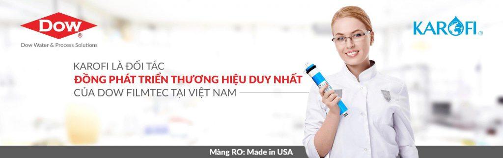 Karofi là đối tác của DOW tại Việt Nam