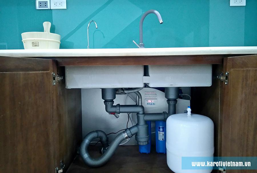 Máy lọc nước lắp gầm chậu rửa