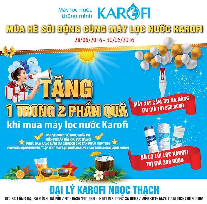 Sôi động ngày hè cùng Karofi