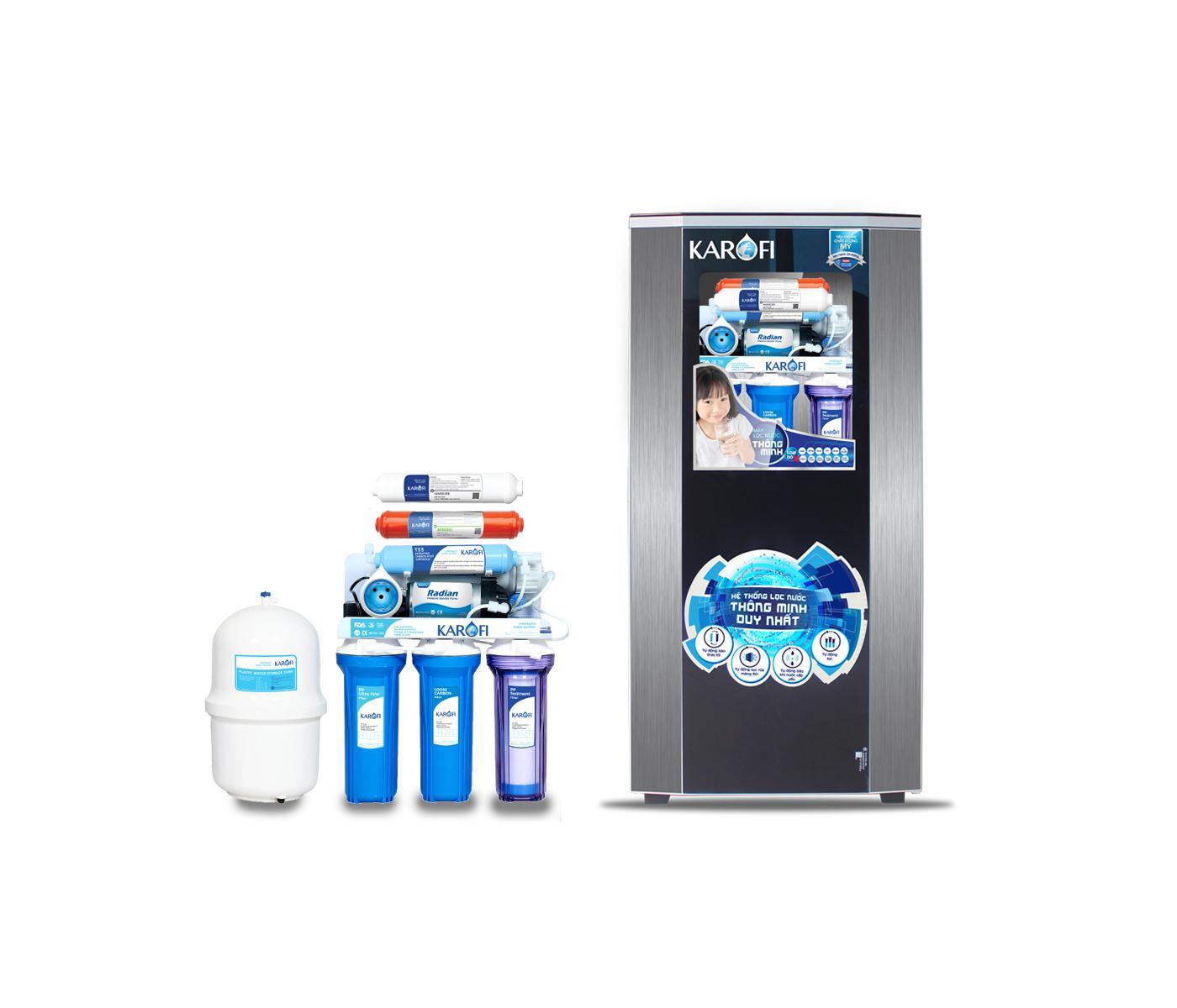 Máy lọc nước sRO 7 cấp lọc tủ IQ