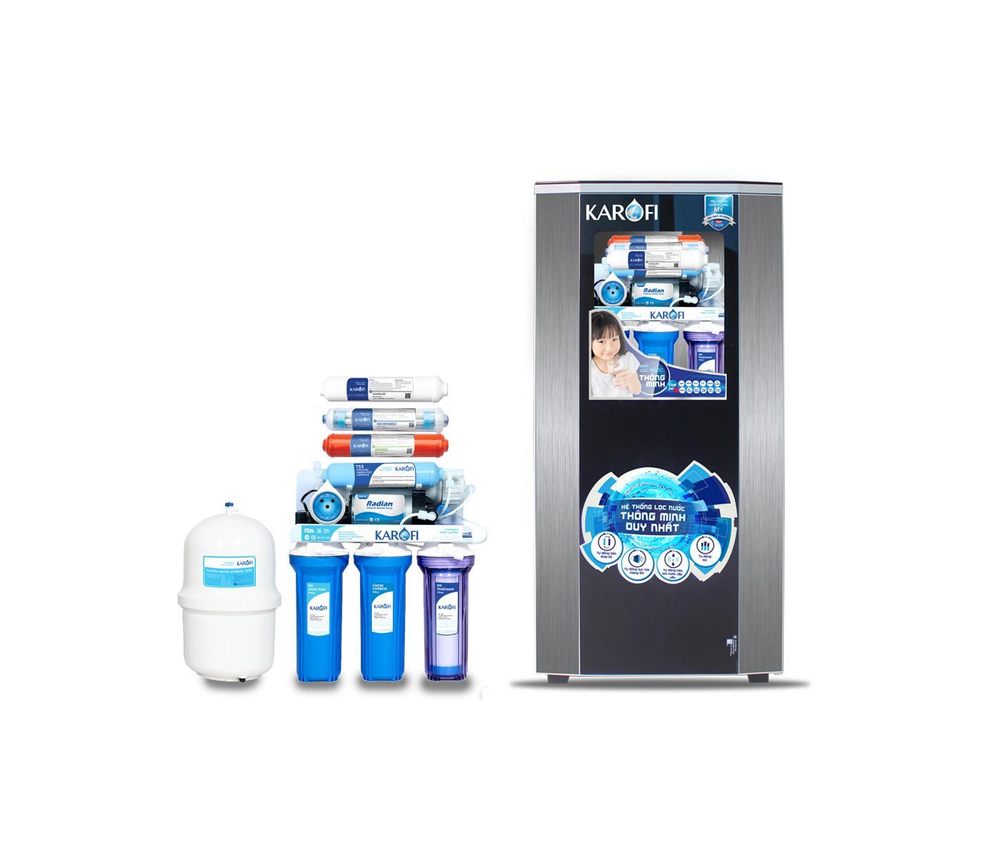 Máy lọc nước sRO 8 cấp lọc tủ IQ