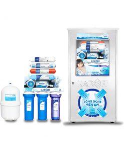 Máy lọc nước sRO 8 cấp tủ Inox