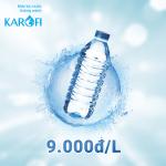 Dùng nước đóng chai