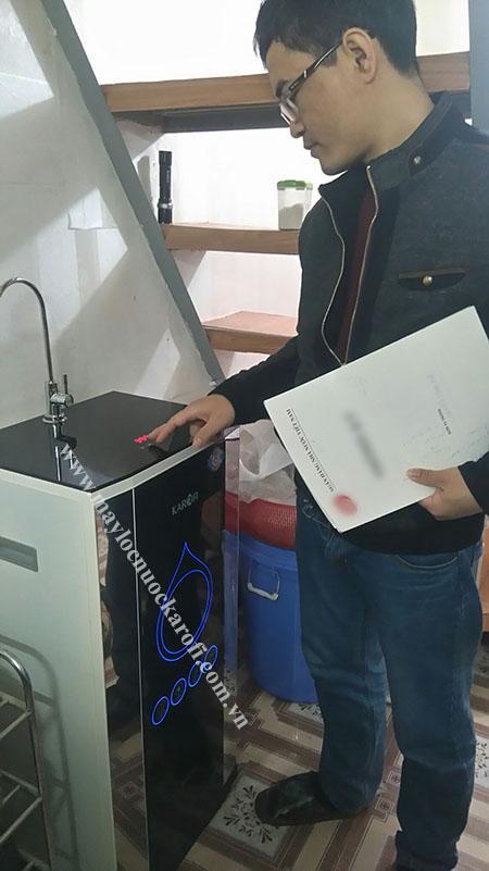 Máy lọc nước iRO 2.0 thực tế