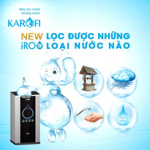 Máy lọc nước Karofi lọc được những loại nước nào