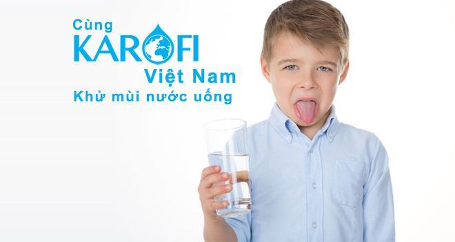 Phương pháp khử mùi, khử vị nhiễm trong nước