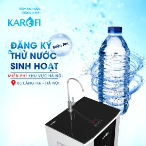 Thử nước miễn phí tại Hà Nội