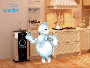 Đặt trong không gian bếp ấm cúng