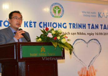 Ông Trần Trung Dũng-Tổng Giám đốc Công ty Cổ phần Karofi Việt Nam. (Ảnh: Cộng tác viên/Vietnam+)