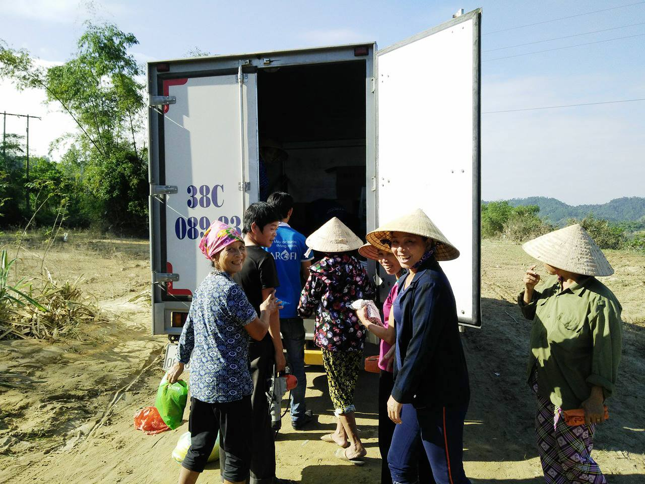 Karofi về miền Trung - Nước sạch cho mọi nhà