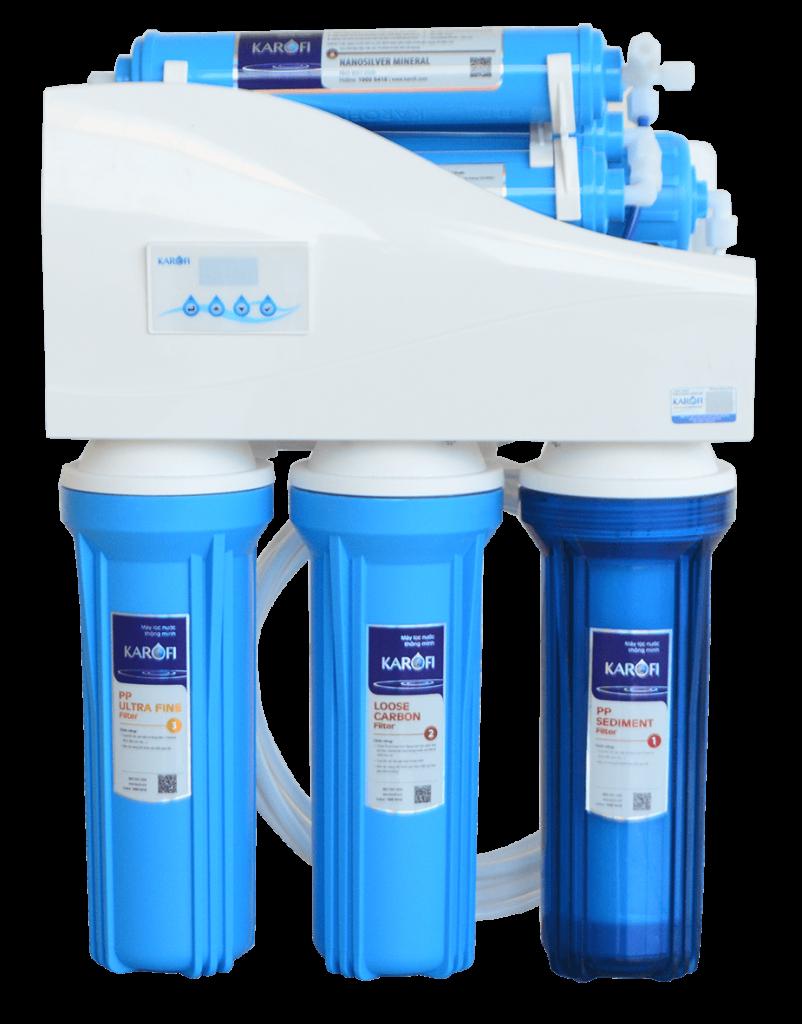 Máy lọc nước thông minh Karofi nhìn chính diện