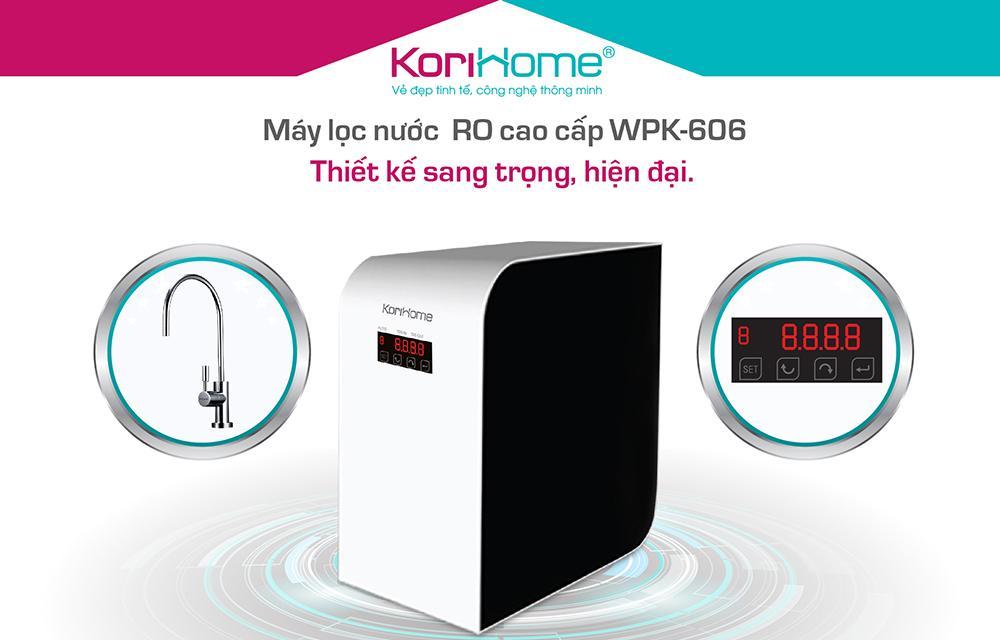 Tổng quát về máy lọc nước KoriHome WPK 606