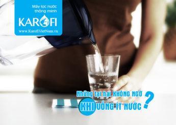 Những tác hại không ngờ khi uống không đủ nước