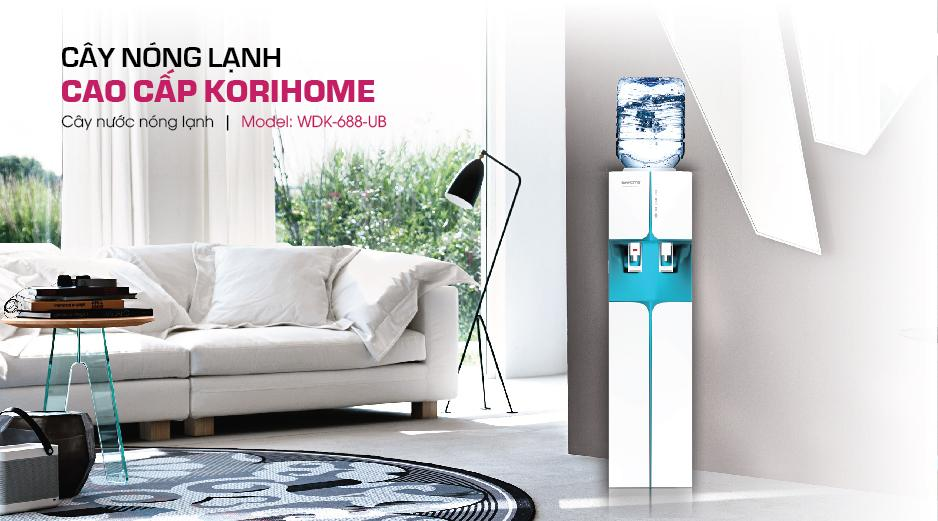 Cây nước nóng lạnh KoriHome WDK 688UP