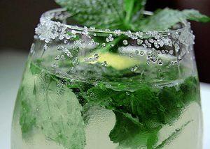 Nước chanh bạc hà