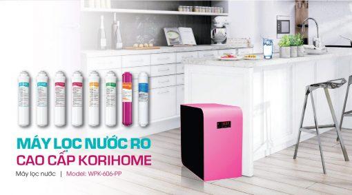 Giới thiệu về Máy lọc nước KoriHome WPK-606-PP