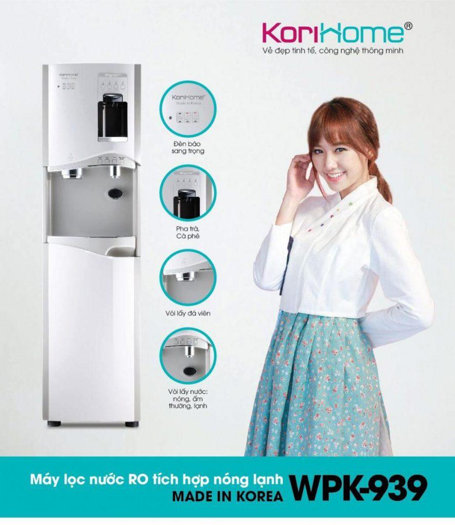 Tính năng nổi bật của máy nóng lạnh Korihome WPK-939