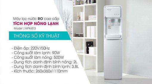 Máy lọc nước nóng lạnh KoriHome WPK-813
