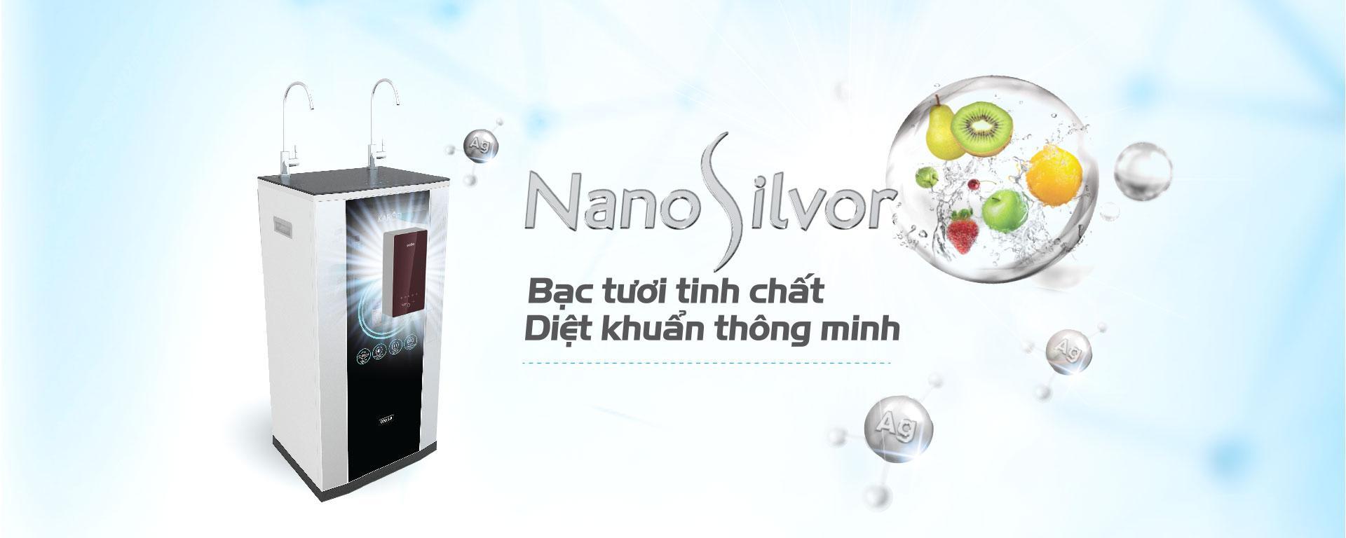 Nano Silvor - Bạc tươi nguyên chất