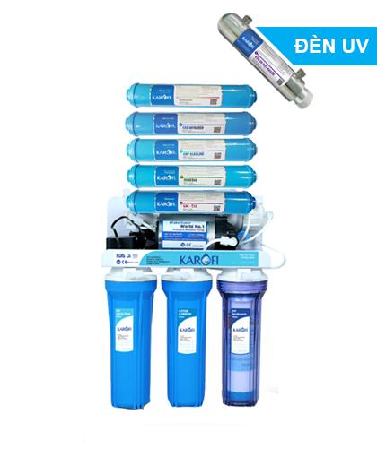 Máy lọc nước RO Karofi 9 lõi có đèn UV