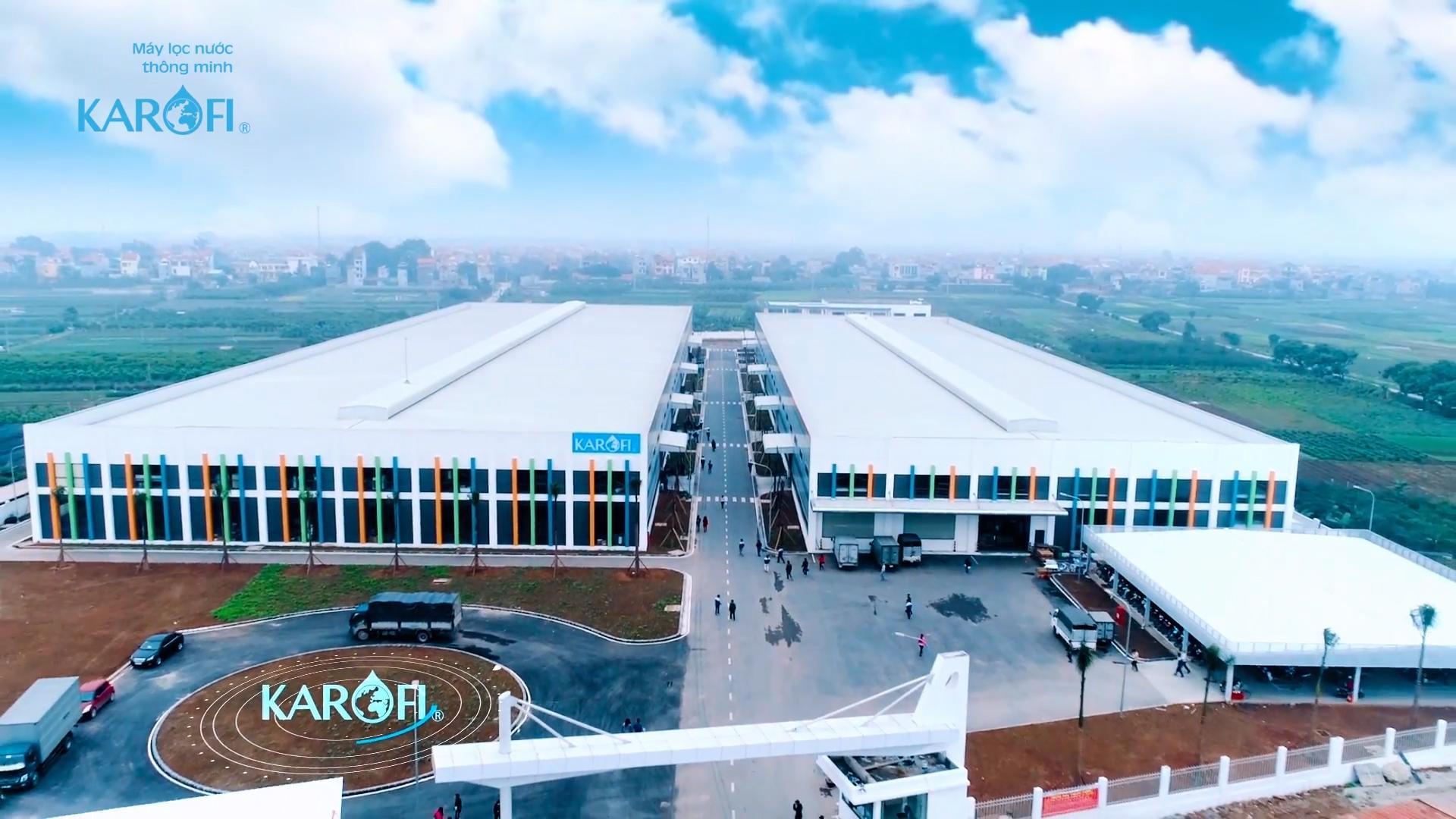 Nhà máy karofi tại Việt Nam