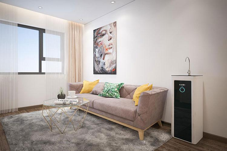 Hình ảnh minh hoạ máy lọc nước Optimus trong phòng khách