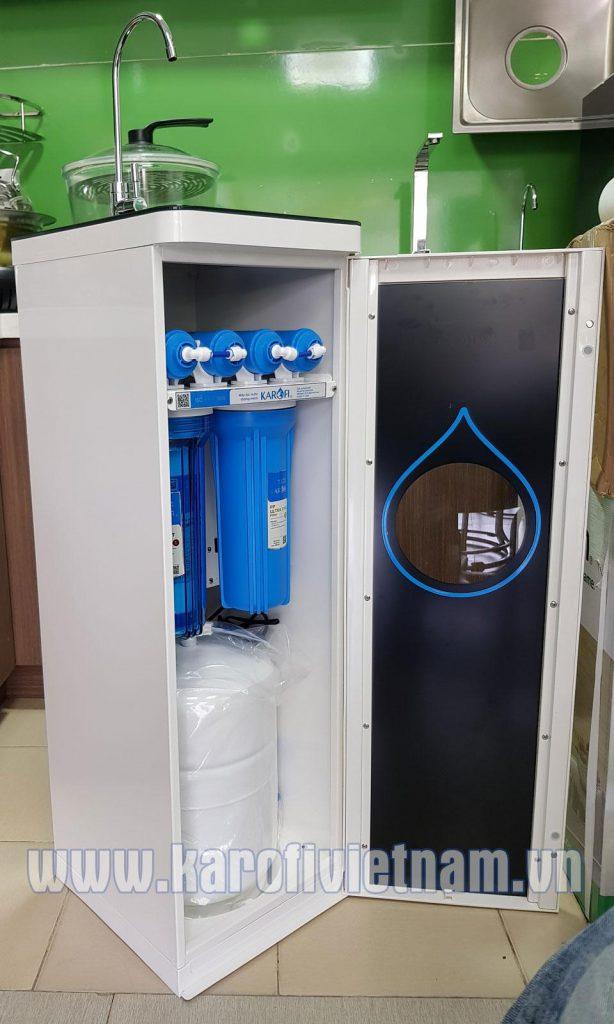 Máy lọc nước tiêu chuẩn MỚI 2018 nhìn nghiêng