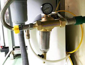 Ảnh thực tế lọc nước đầu nguồn Karofi tại nhà khách hàng