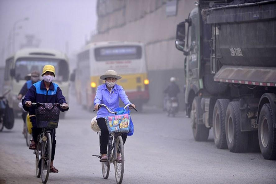 Thực trạng không khí bị ô nhiễm