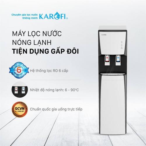 May Loc Nuoc Ro Nong Lanh 2 Voi Karofi Hcv351 Wh 1565592499