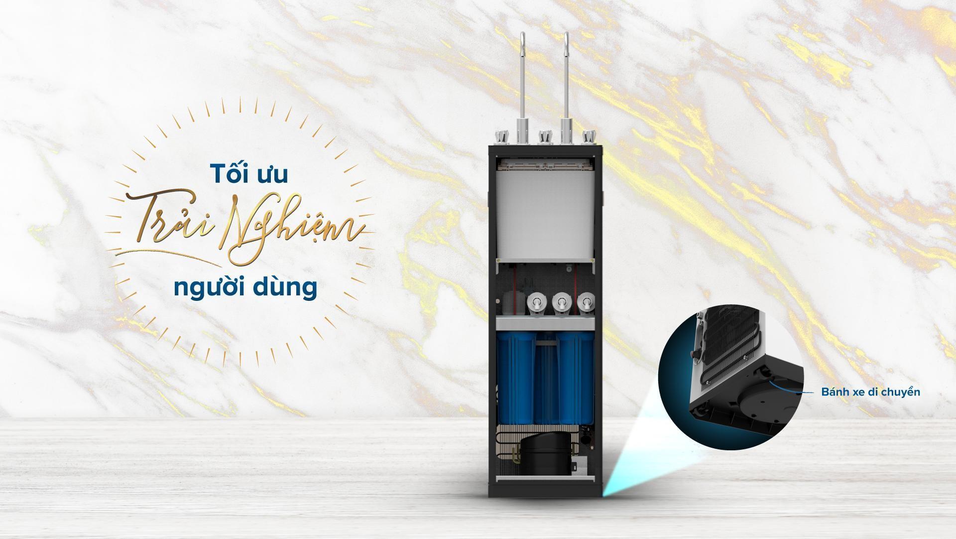 Máy lọc nước Karofi Optimus Duo - 2 vòi 3 chế độ nước