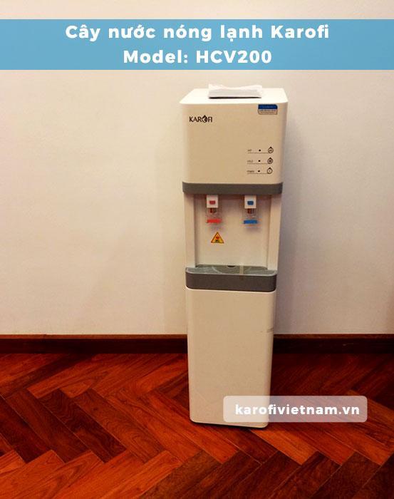 Hình ảnh thực tế cây nước nóng lạnh Karofi HCV200