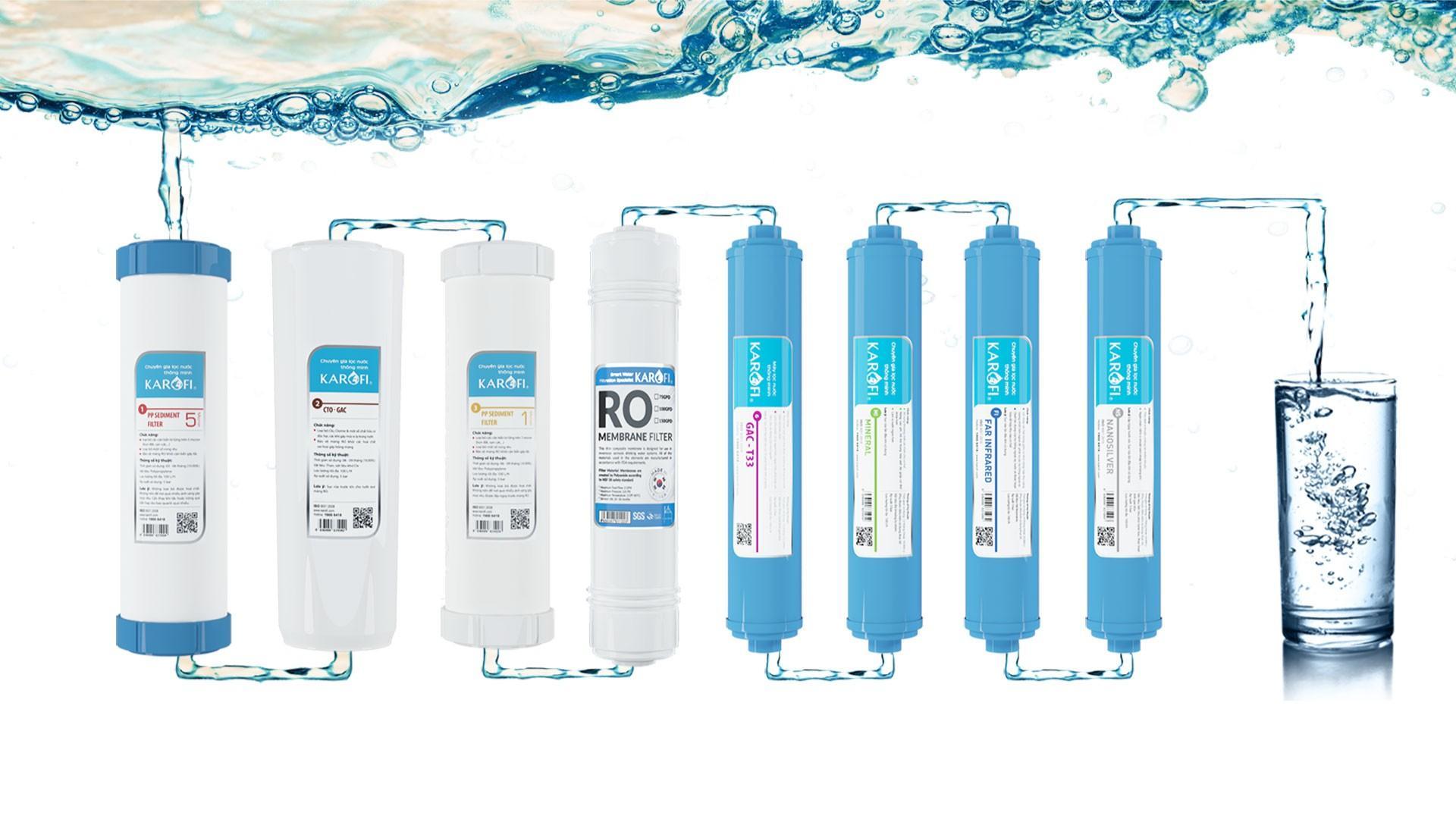 Máy lọc nước Karofi K-i238