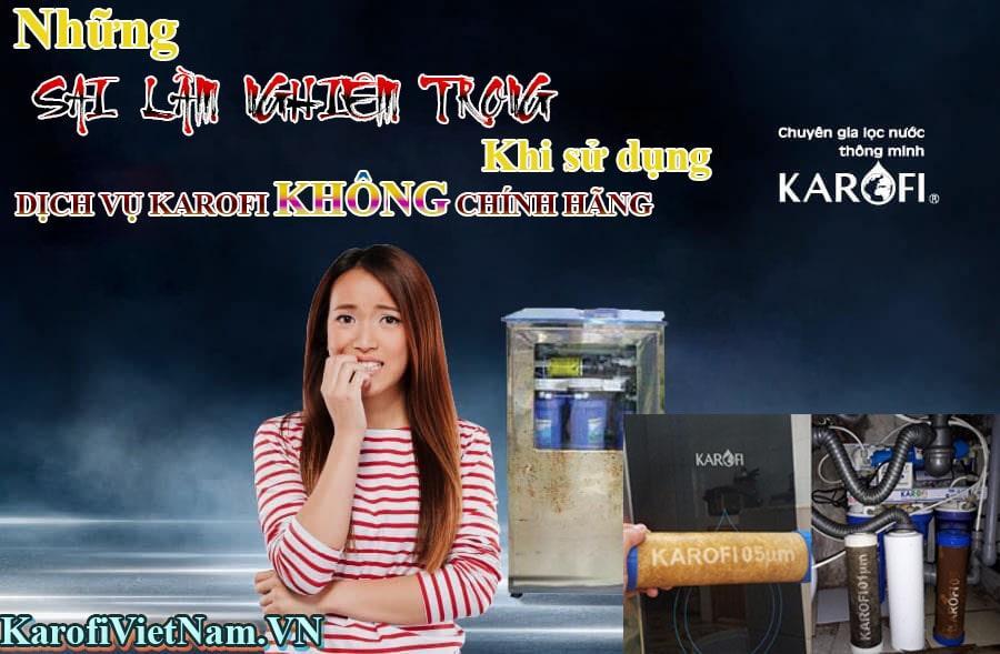 Sai Lam Nghiem Trong Khi Su Dung Dich Vu Karofi Khong Chinh Hang Min