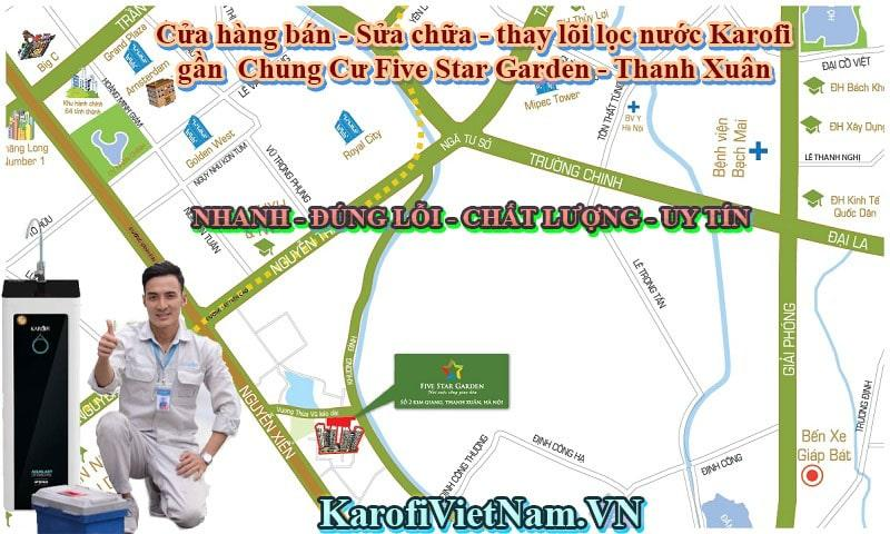 Cua Hang Ban Thay Loi Sua Chua May Loc Nuoc Karofi Gan Chung Cu Five Star Garden Thanh Xuan Min