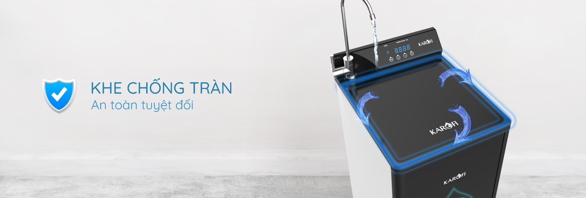 Máy lọc nước Karofi Optimus Plus - 10 lõi - Model O-P1310