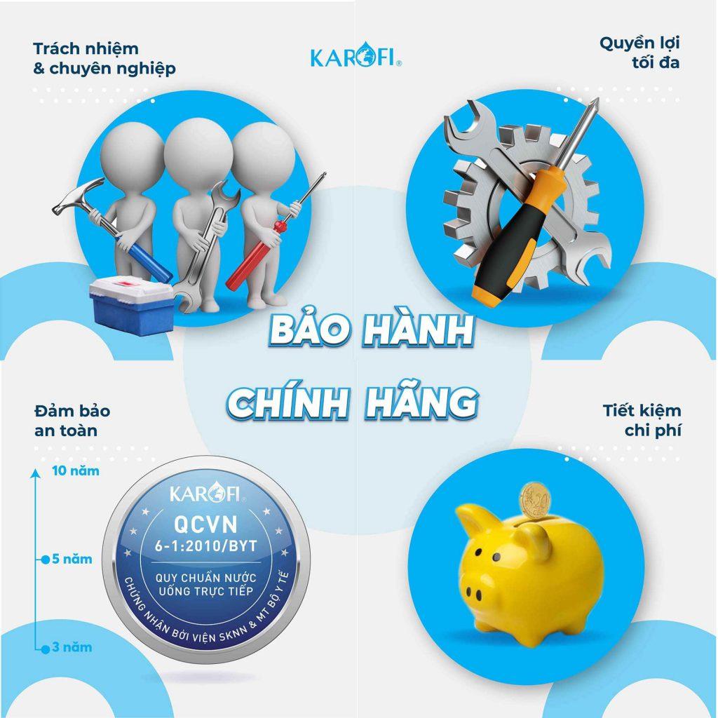 Tron Ven Dac Quyen Bao Hanh Khi Mua May Loc Nuoc Karofi Chinh Hang Min