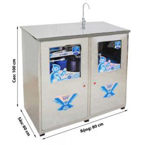 Máy lọc nước Bán công nghiệp Karofi có tủ