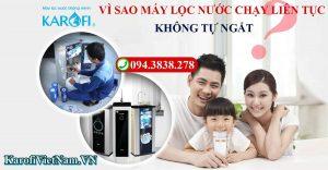 Vi Sao May Loc Nuoc Chay Lien Tuc Khong Tu Ngat Cach Khac Phuc Nhu The Nao Min