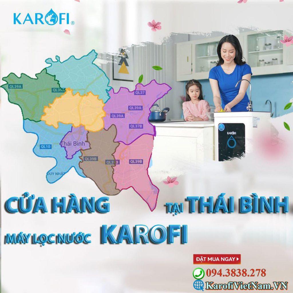 Cửa hàng máy lọc nước karofi tại thái bình