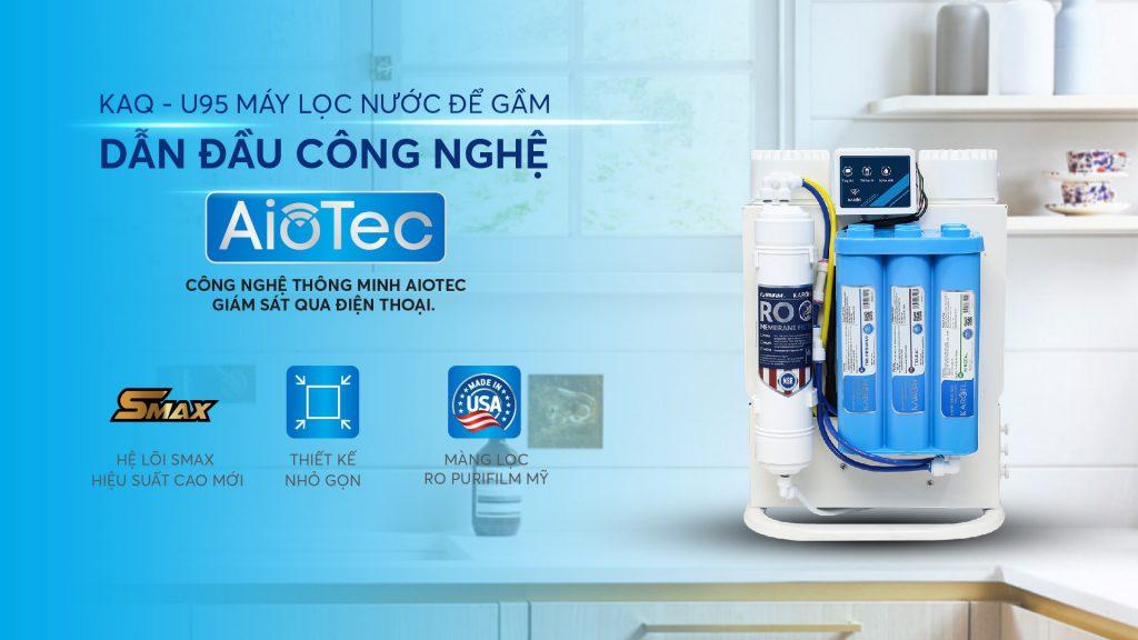 May Loc Nuoc Hydrogen Karofi Kaq U95 Dan Dau Cong Nghe Aiotec