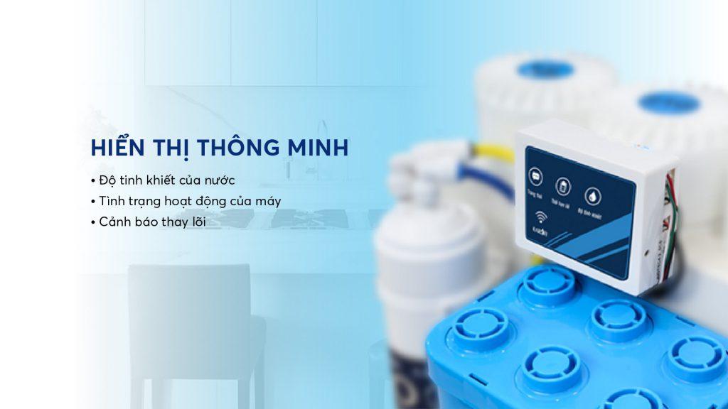 May Loc Nuoc Hydrogen Karofi Kaq U95 Hien Thi Thong Minh