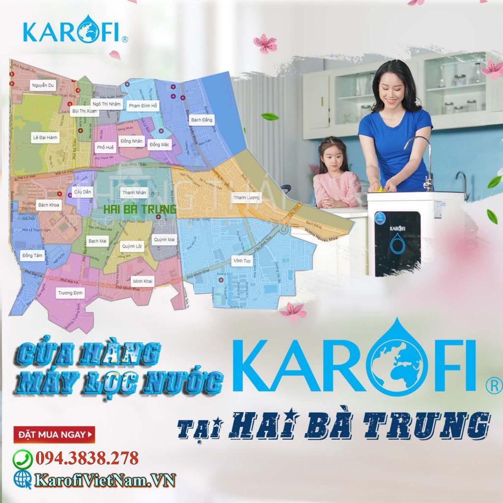 Cua Hang May Loc Nuoc Karofi Tai Hai Ba Trung