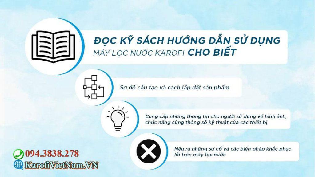 Doc Ky Sach Huong Dan Su Dung May Loc Nuoc Karofi Min