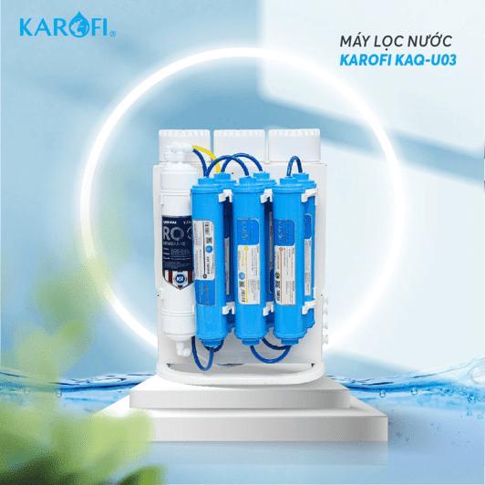 Máy lọc nước để gầm Karofi KAQ-U03