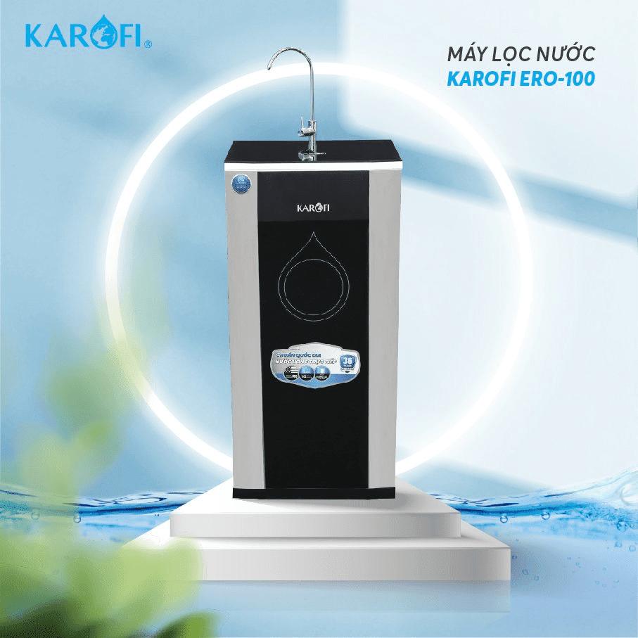 Máy lọc nước tủ đứng Karofi ERO100 hoàn toàn mới