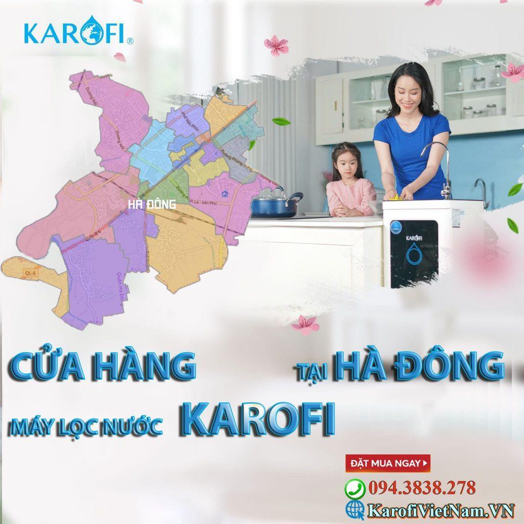 Đại lý máy lọc nước Karofi tại Hà Đông