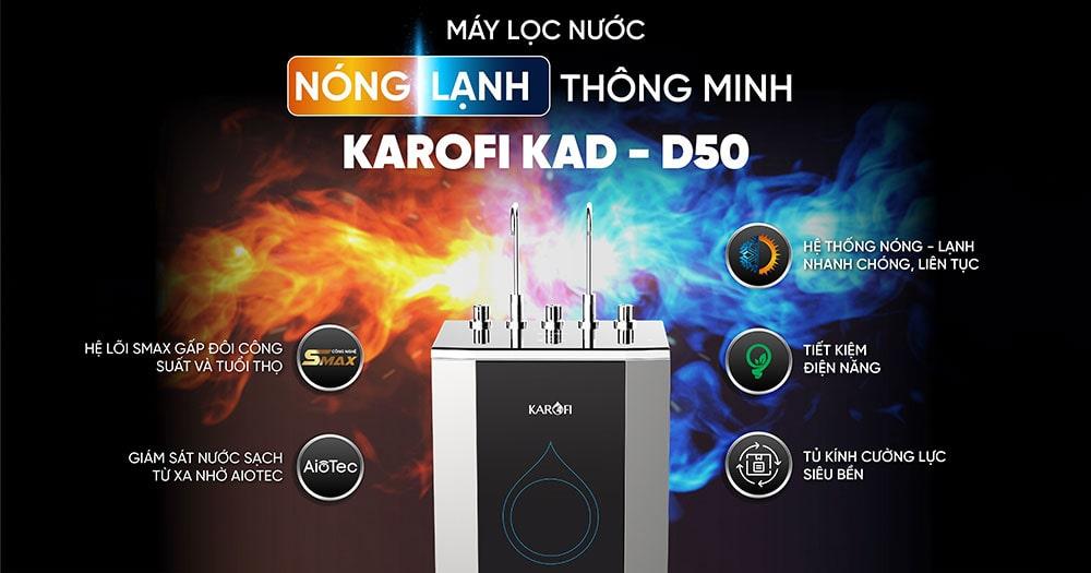KAQ-D50 - Máy lọc nước nóng lạnh thông minh