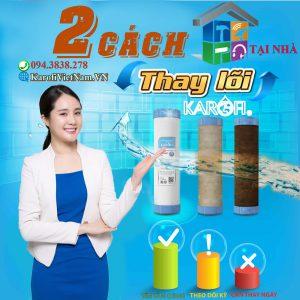Mach Ban 2 Cach Thay Loi Loc Nuoc Karofi Chuan An Toan Min