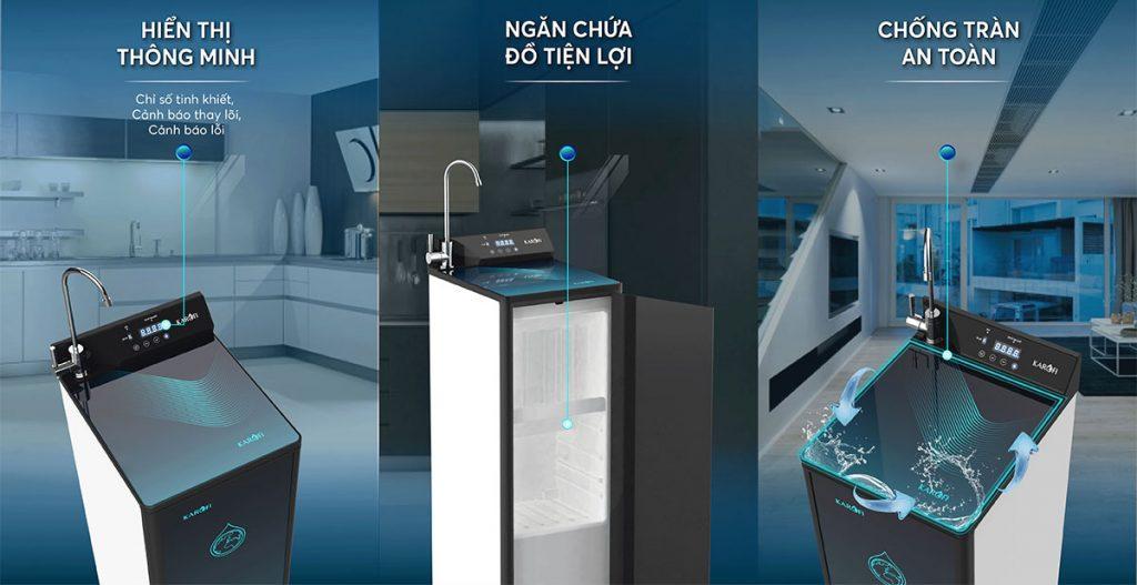 Máy lọc nước Karofi KAQ-P95 - thông minh 10 lõi Hydrogen